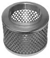 Steel Round Hole Strainers